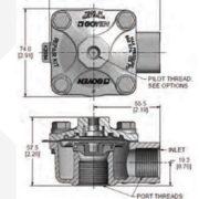GOYEN RCAC20 T GENERAL DIMENSIONS