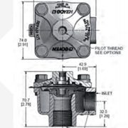 GOYEN RCAC25 T GENERAL DIMENSIONS