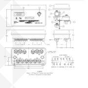 Goyen 3-12V General Dimensions